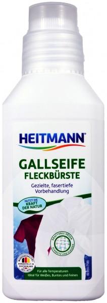 Heitmann Gallseife mit Fleck-Bürste, 250 ml