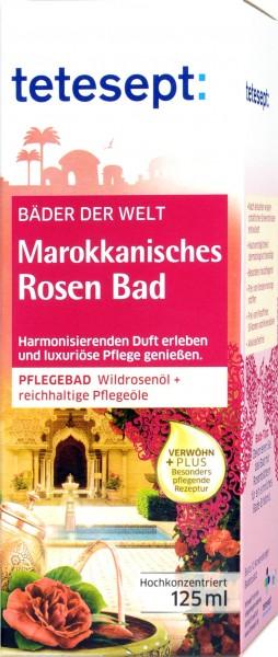 Tetesept Marokkanisches Rosenbad, 125 ml