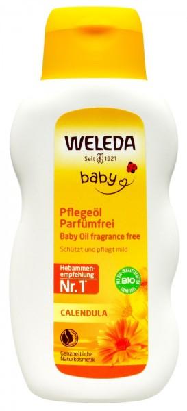 Weleda Calendula Pflegeöl ohne Parfum, 200 ml
