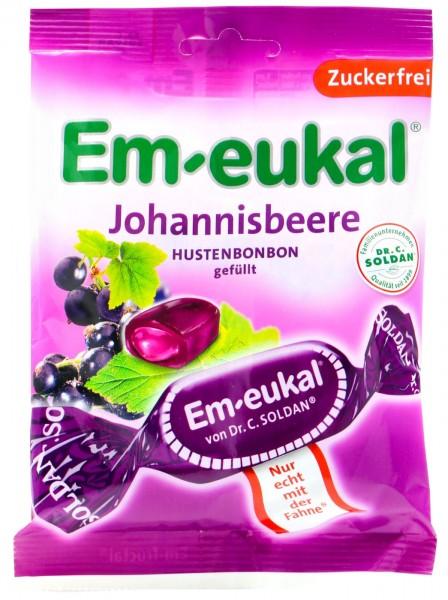 Em-Eukal Johannisbeere gefüllt Zuckerfrei, 75 g