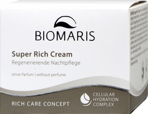 Biomaris Super Rich Cream ohne Parfum Tiegel, 50 ml