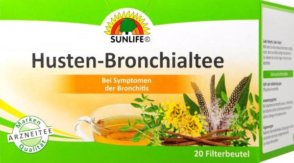 Sunlife Husten und Bronchialtee, 20 er