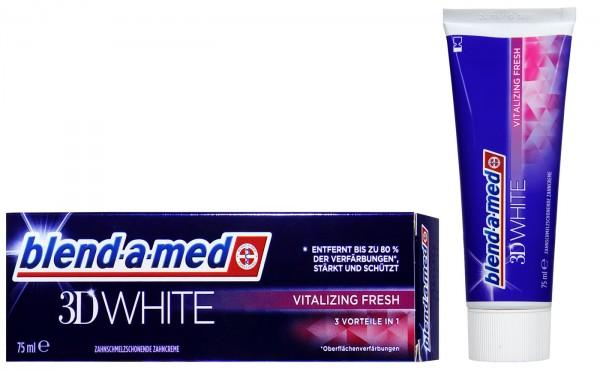Blend-a-Med 3D White Vitalizing Fresh, 75 ml