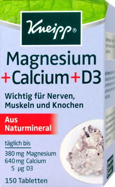 Kneipp Magnesium Calcium Tabletten, 150 er