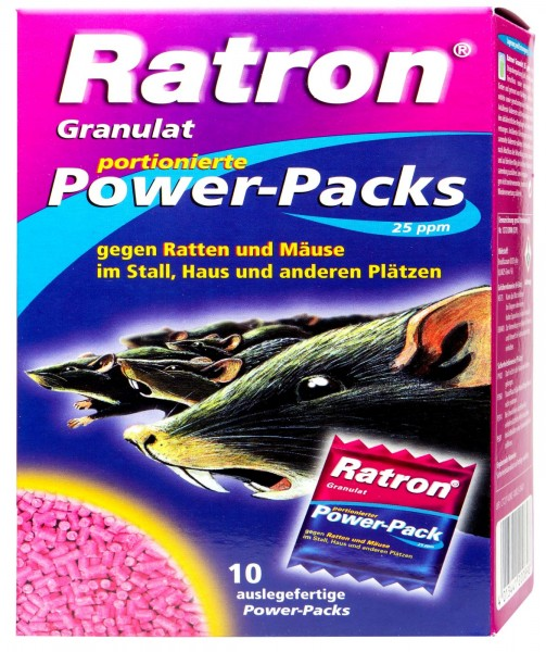 Delicia Ratron Granulat Power-Packs, 400 g