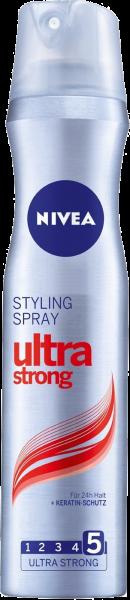 Nivea Haarstyling Spray Ultra Stark, 250 ml
