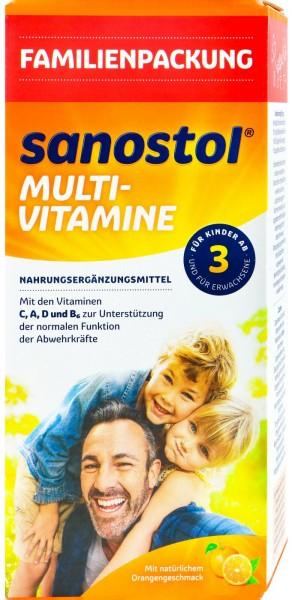 Sanostol Multivitamine, 780 ml