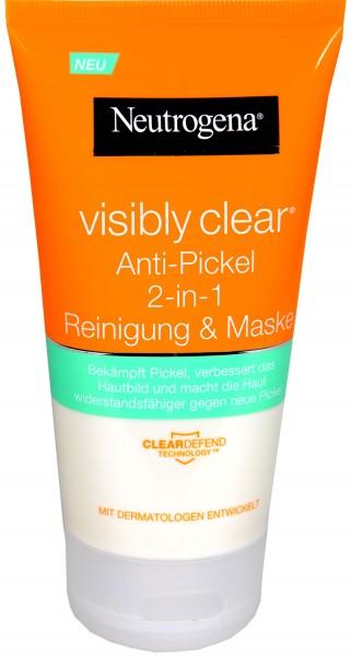 Neutrogena Visibly Clear Reinigende Maske, 150 ml