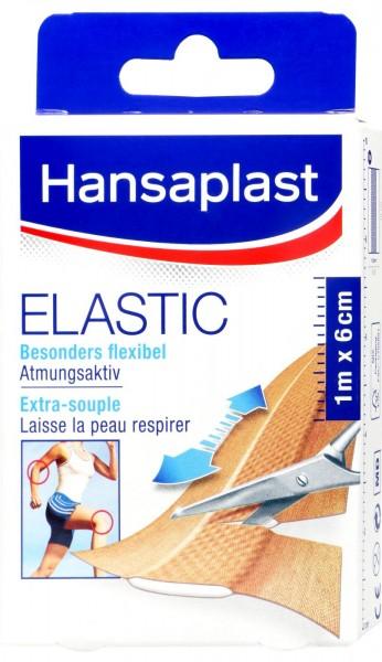 Hansaplast Elastic 1 m : 6 cm, 1 er