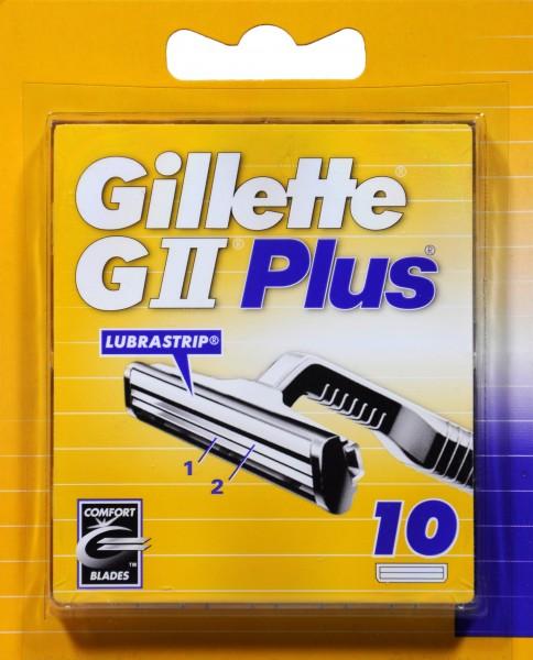 Gillette GII Plus, 10 er