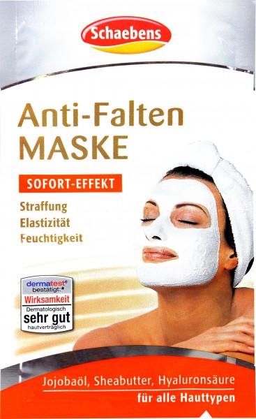 Schaebens Anti-Falten Maske, 2 x 5 ml