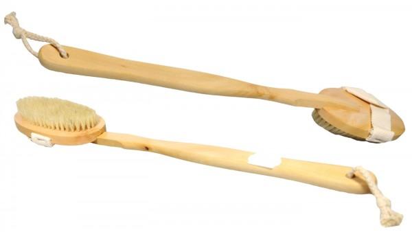 Badebürste Holz Reine Borsten, Oval