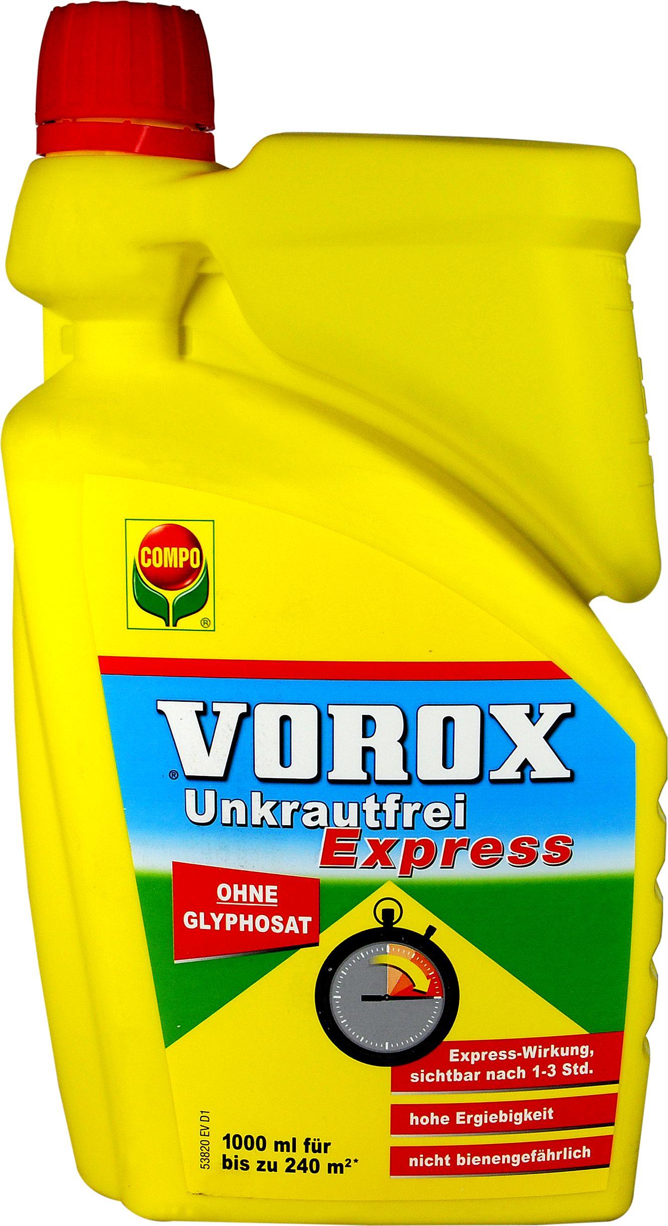 Vorox Unkrautfrei Express, 1000 ml | bie-dro