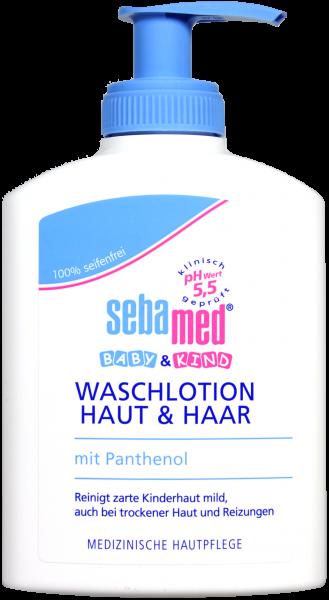 Sebamed Baby Waschlotion Haut und Haar, 200 ml