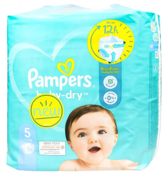 Pampers Baby Dry Windeln (11 - 16 kg), 30 er
