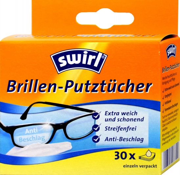 Brillen Putztücher Swirl, 30 er
