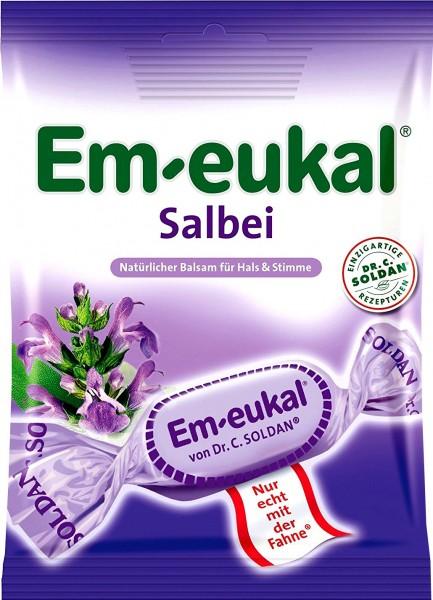 Em-Eukal Salbeibonbon, 75 g