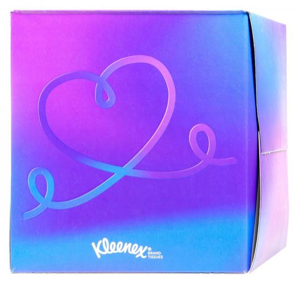 Kleenex Kosmetiktücher Würfelbox, 56 er