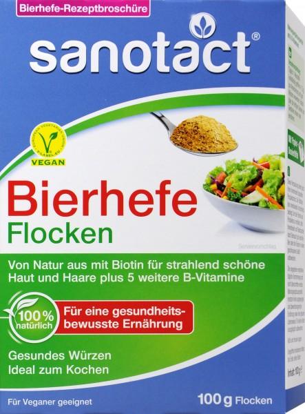 Sanotact Bierhefe Flocken, 100 g