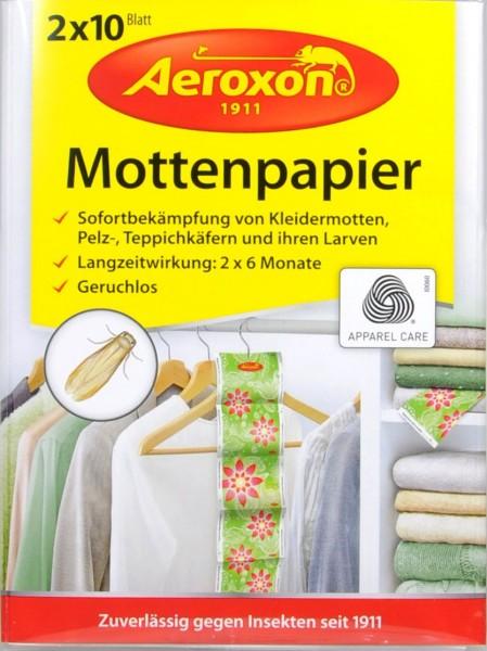 Aeroxon Mottenpapier 2 x 10, 20 g