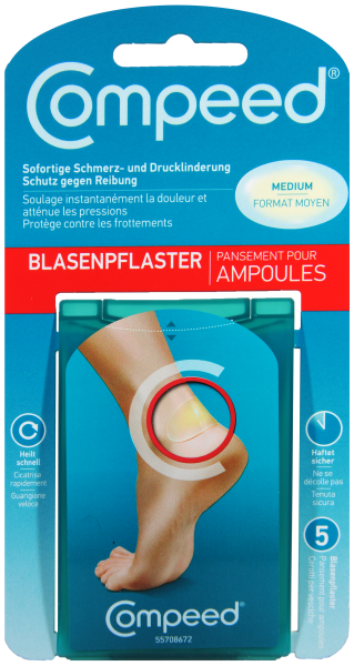 Compeed Blasenpflaster Medium, 5 er