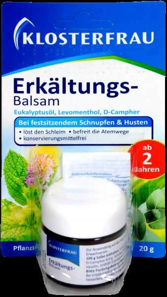 Broncholind Erkältungs-Balsam, 20 g