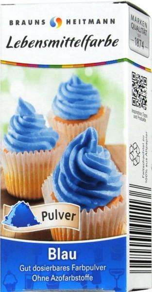 Lebensmittelfarbe Blau, 2 x 4 g