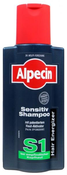 Alpecin Sensitiv Shampoo S1 - Für Empfindliche Kopfhaut, 250 ml