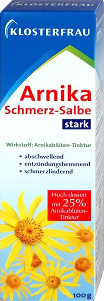 Klosterfrau Arnika Schmerzsalbe, 100 g