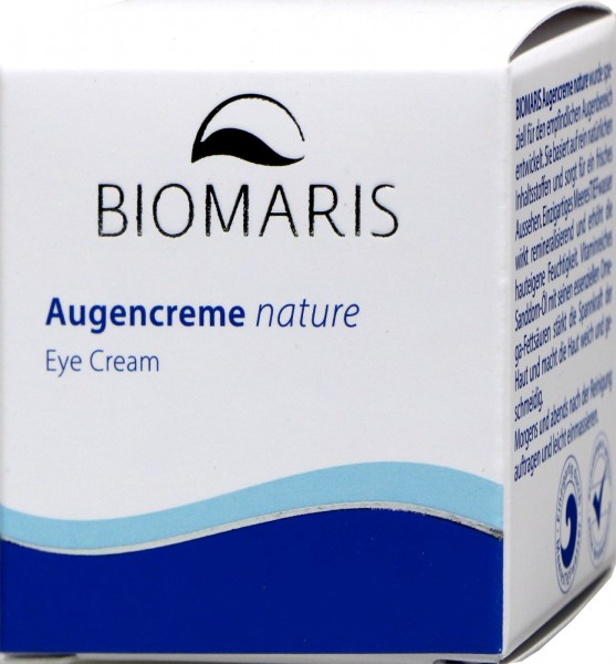 Biomaris Augencreme Nature Tiegel, 15 ml