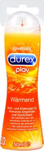 Durex Play Warming Gleitgel, 50 ml