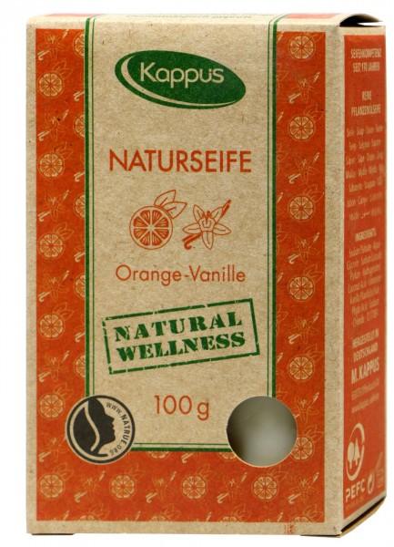 Kappus Naturseife Orange-Vanille, 100 g