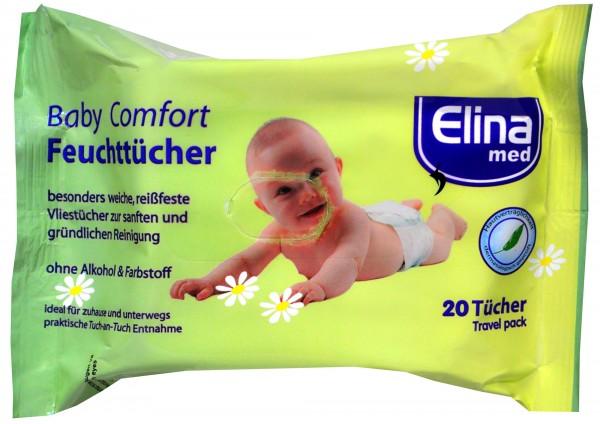 Elina Feuchttücher Baby Comfort, 20 er