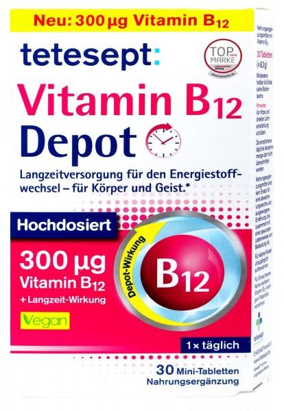 Tetesept Vitamin B12 Depot, 30 er