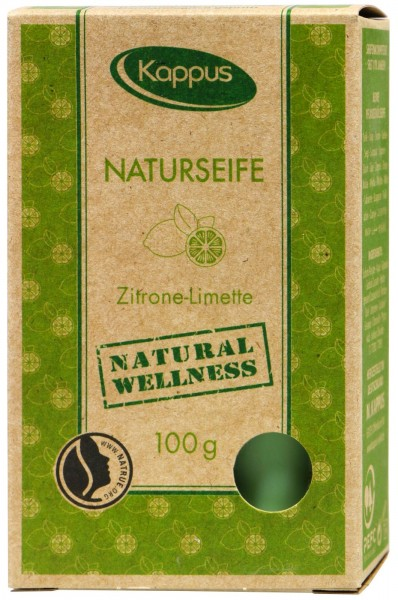 Kappus Naturseife Zitrone-Limette, 100 g