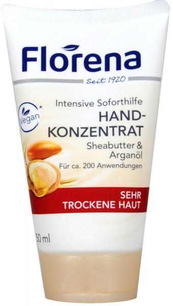 Florena Handcreme Arganöl + Sheabutter, 50 ml