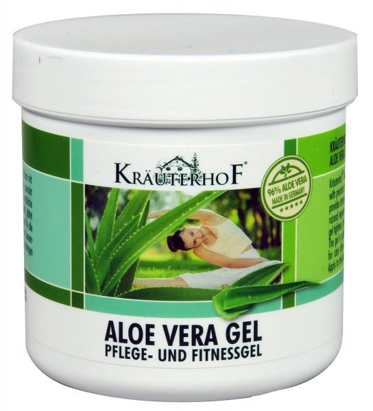 Kräuterhof Pflege- und Fitness Gel Aloe Vera, 250 ml