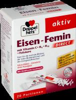 Doppelherz Eisen Femin Direct, 20 er