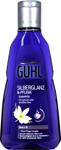 Guhl Shampoo Silberglanz Noni und Öl, 250 ml