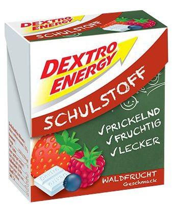 Dextro Energy Schulstoff Waldfrucht, 50 g