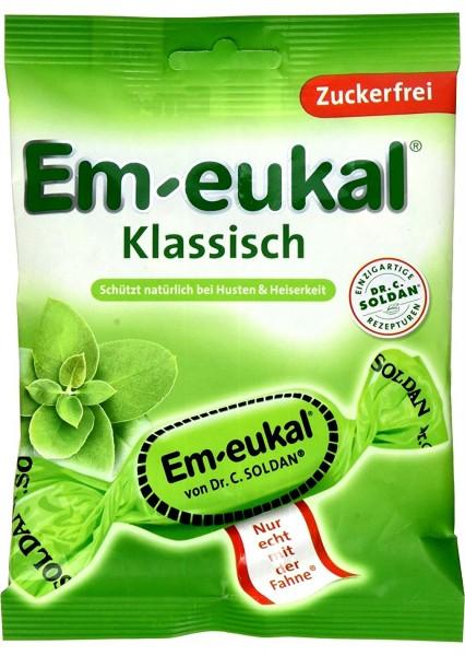 Em-Eukal Klassisch Zuckerfrei, 75 g