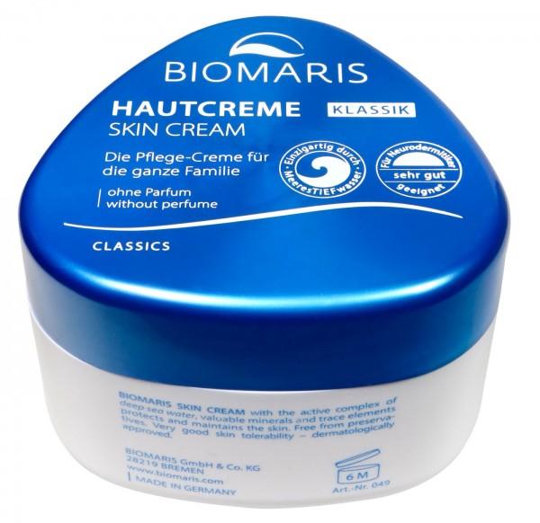 Biomaris Hautcreme ohne Parfum Dose, 250 ml