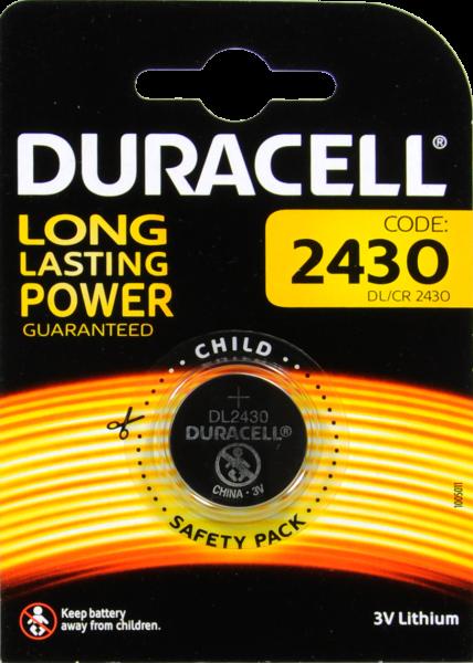 Duracell Lithium Batterie 2430, 3 V
