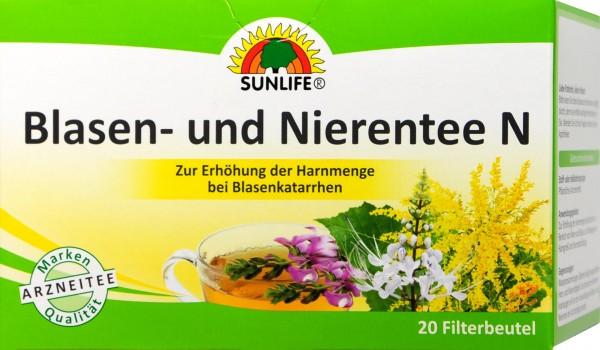 Sunlife Blasen- und Nierentee, 20 er