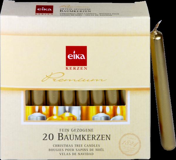 Eika Baumkerzen Gold, 20 er