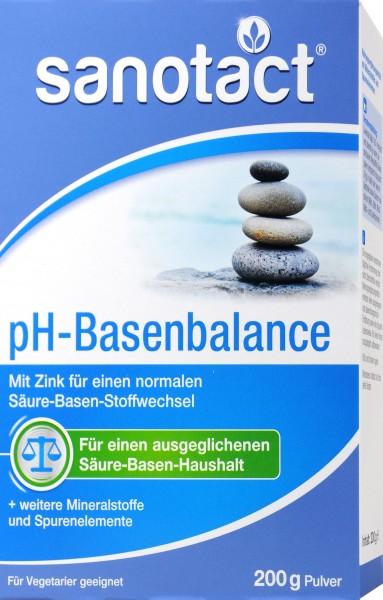 Sanotact ph-Basenbalance Pulver, 200 g