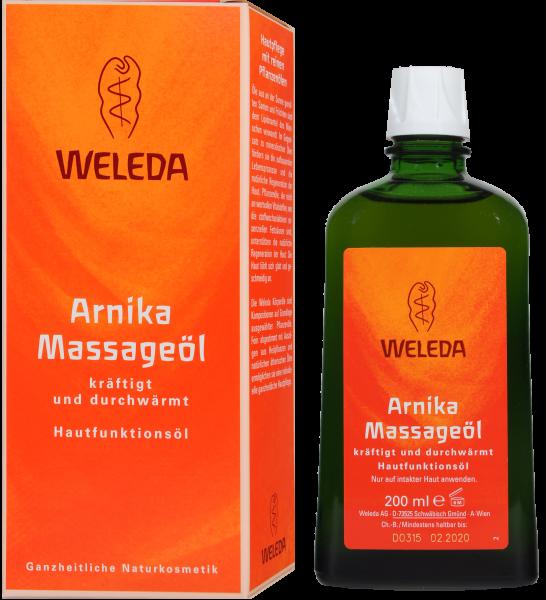 Weleda Massageöl M Arnika, 200 ml