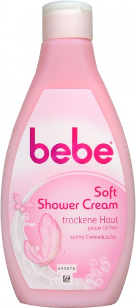 Bebe Young Care Soft Shower Cream, 250 ml