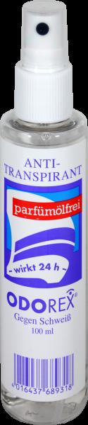 Odorex Antischweißmittel Zerstäuber, 100 ml