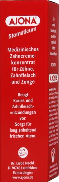 Ajona Zahncreme Stomaticum, 25 ml